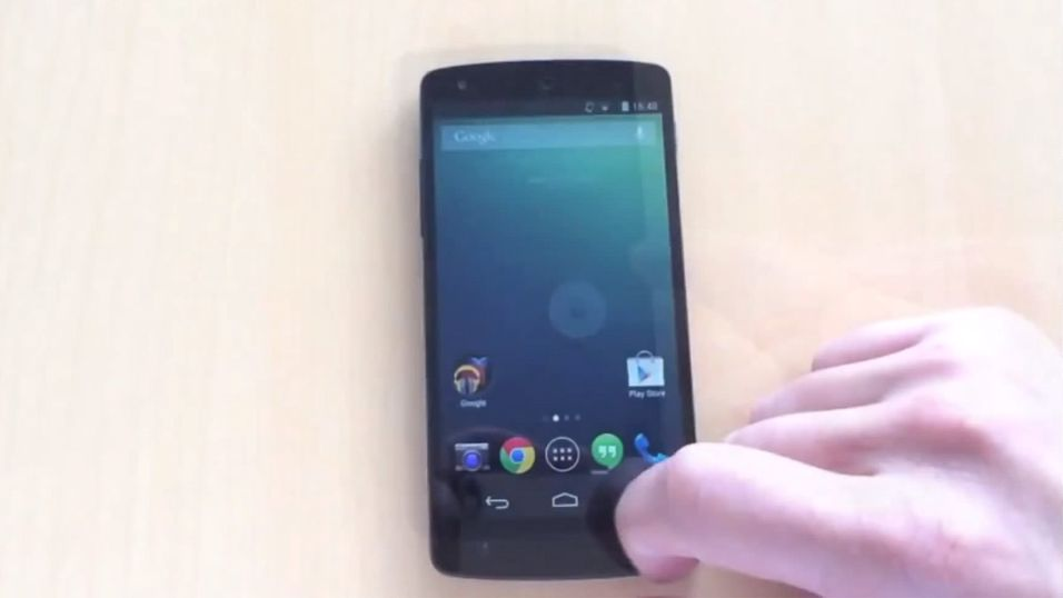Hele Google Nexus 5 vises fram i video