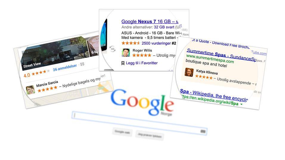 Google vil plassere deg i reklamer