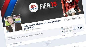 27 000 nordmenn vil ha Øyvind Alsaker i FIFA-spillet