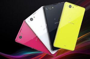 Z1F, også kjent som Z1 Mini, kommer i rosa, hvitt, sort, og limegrønt.