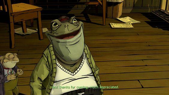 Den sjarmerende padda Mr. Toad er et av episodens lyspunkt.