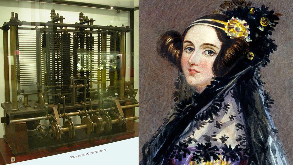 Denne fjonge dama var verdens første programmerer