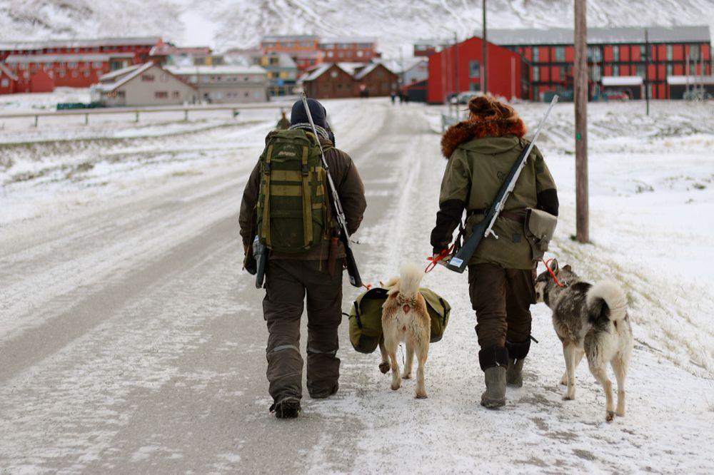 Også søndagen ble vi passet på av både mennesker og dyr.
