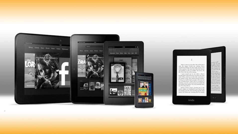 Ryktene vil ha det til at Amazon snart kommer med en Kindle-mobil produsert av HTC.