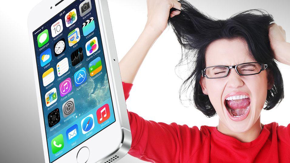 iOS 7 får slakt for dårlig brukervennlighet