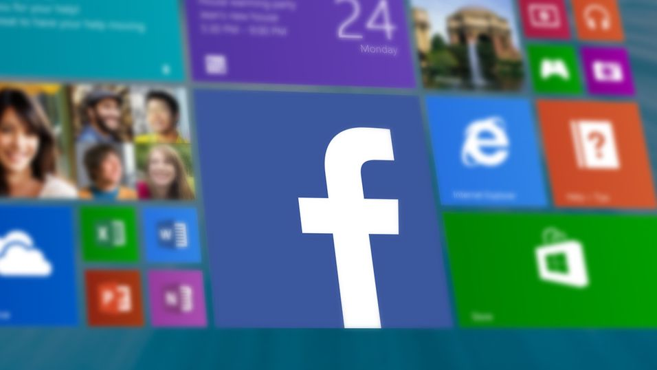 Windows 8 får endelig Facebook-app
