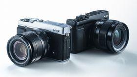 Ny generasjon: Fujifilm X-E2.