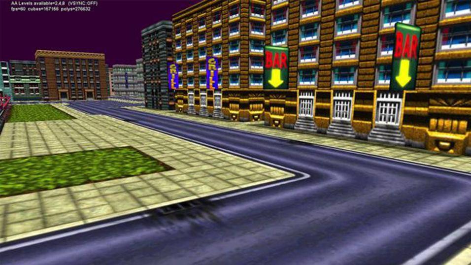 Gjenskaper originale GTA i 3D