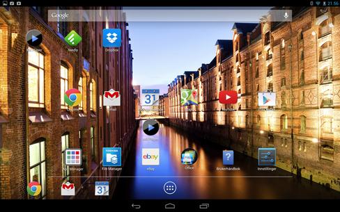 Toshiba har ikke gjort mange endringer i Android-grensesnittet.