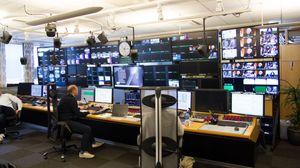 Her er NRK i sving med å lage TV-programmer.