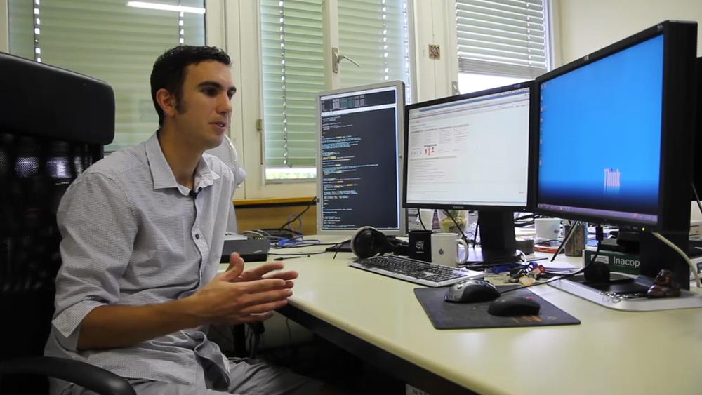 Terje Ness Andersen jobber i Cerns IT-avdeling med Twiki-plattformen.