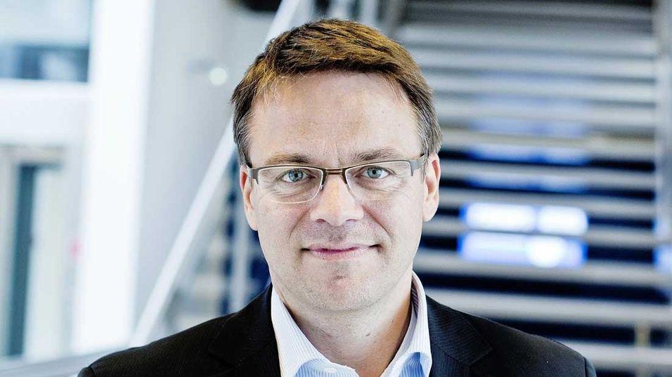 Broadnet-sjef Martin Lippert leverer røde tall i 2014-regnskapet.