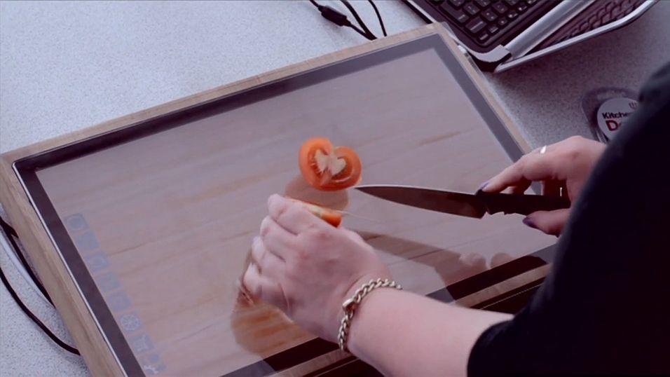 Dette Sharp-nettbrettet tåler kniver