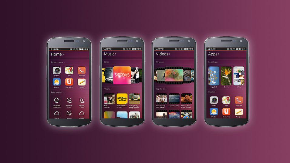 Nå får du Ubuntu på mobilen