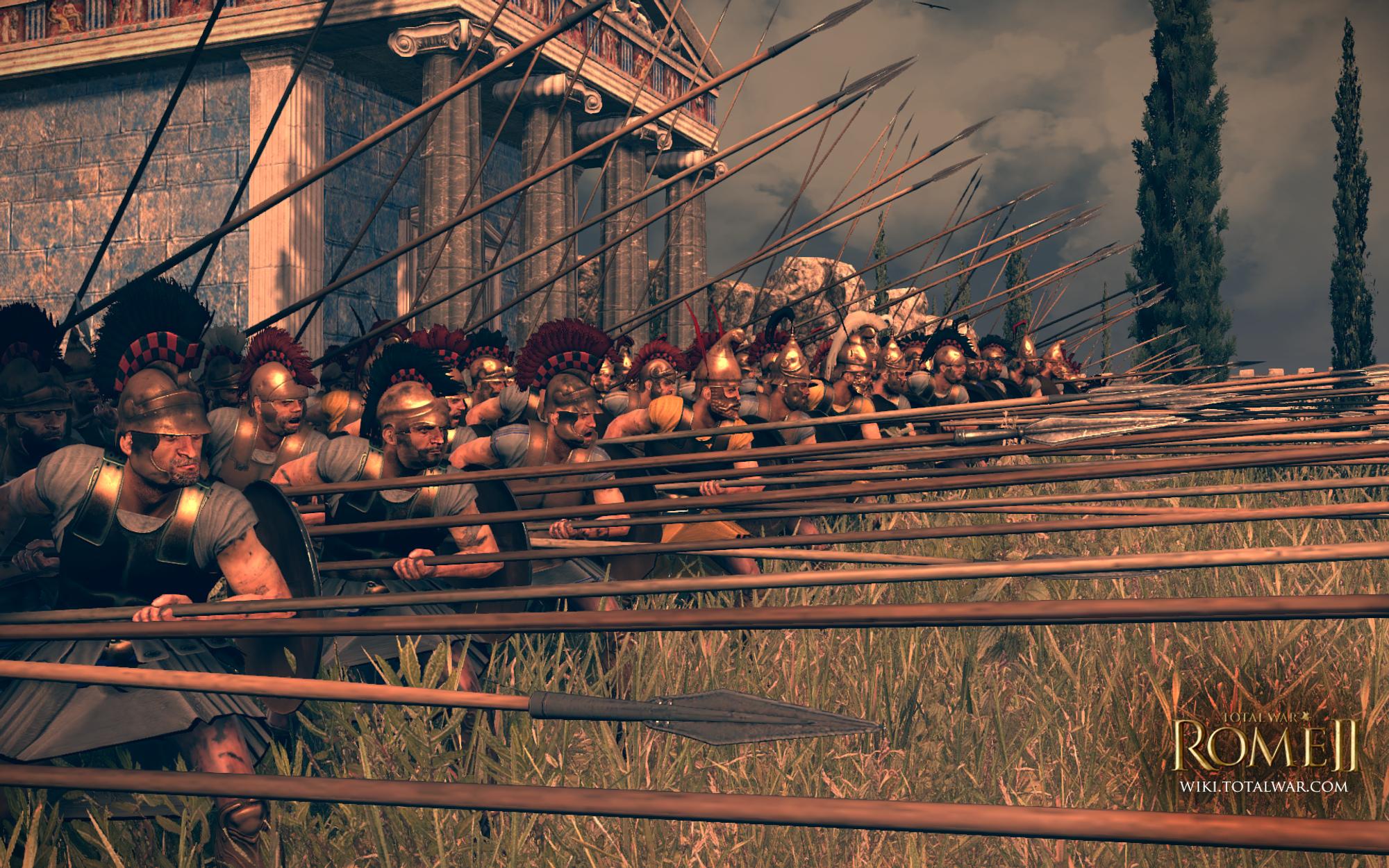 Студия Creative Assembly сообщила, что Total War Rome 2 будет