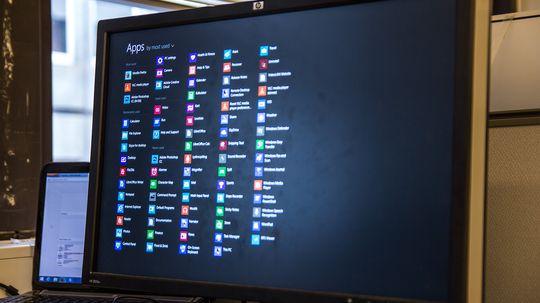 En skikkelig ansiktløftet startskjerm, og en App-skjerm som går an å finne, er bare noen av mange små endringer i Windows 8.1.