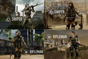 Slik ser de kvinnelige soldatene ut.