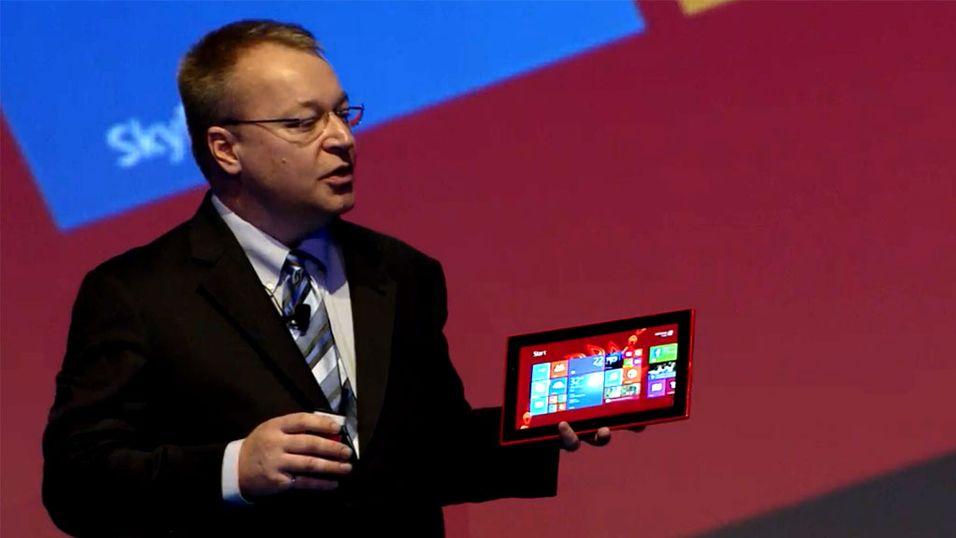 Nokia har lansert sitt første nettbrett
