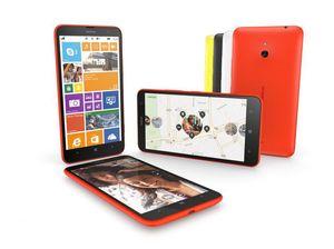 Nye Nokia Lumia 1320 er en rimelig Windows-mobil med 6-tommers skjerm.  .
