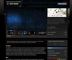 Slik ser produkbeskrivelsen ut på Steam-siden for øyeblikket.
