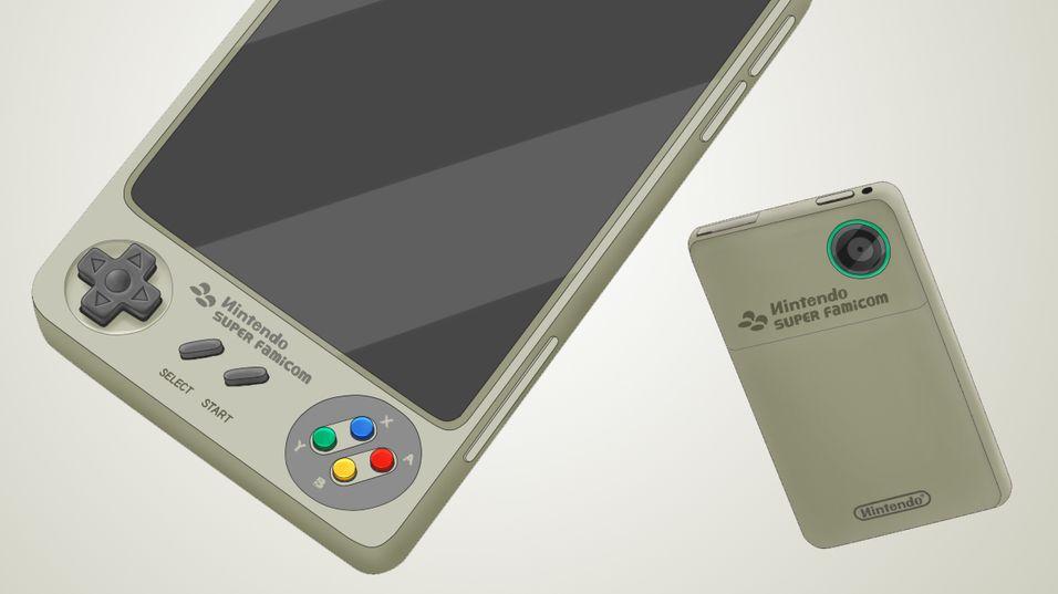 Hva om Nintendo lagde en smarttelefon?