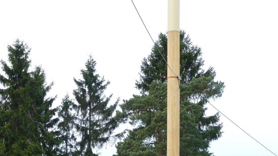 Tele2s basestasjon skal ligne lyktestolpen som sto der før, og gli mest mulig inn i miljøet.