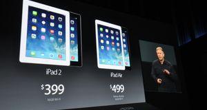 iPad Air kommer til Norge 1. november