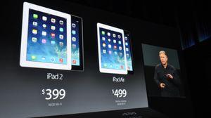 iPad Air blir tilgjengelig fra 1. november.