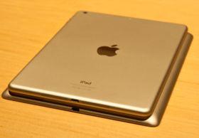 Nye iPad Air er merkbart mer kompakt enn forrige generasjon iPad. Den er også mye lettere.