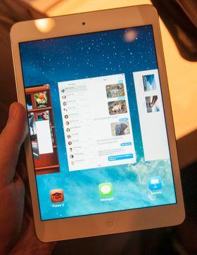 Skjermen i iPad Mini har blitt voldsomt mye bedre enn i forgjengeren. Du vil også merke stor forskjell på hvor fort apper starter.