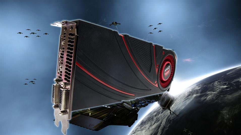 Radeon R9 290X er det nye flaggskipet fra AMD, som skal ta opp kampen om topplasseringen med Nvidias beste.