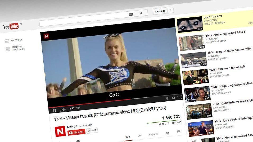 – YouTube lager musikktjeneste