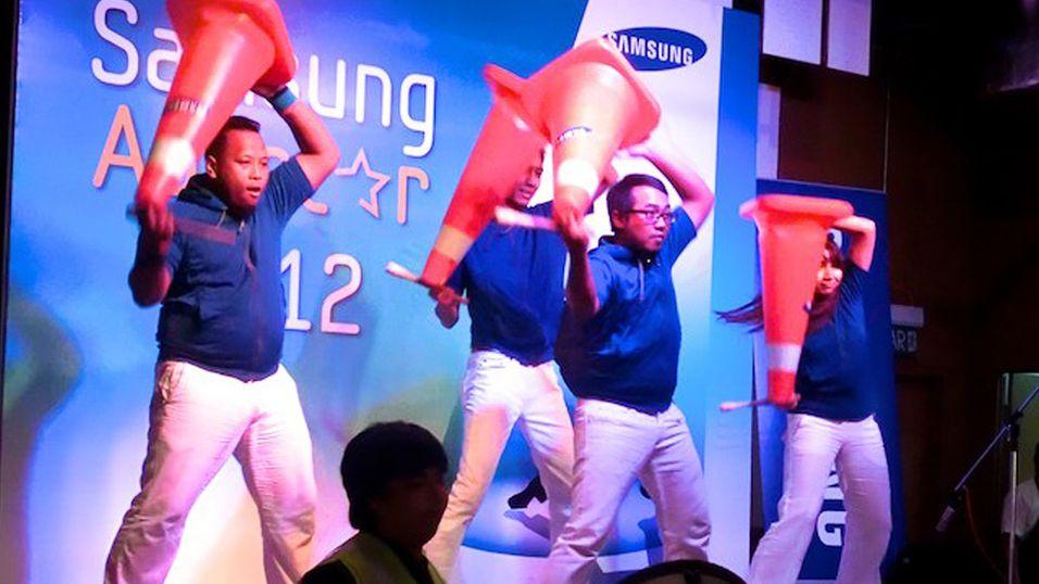 Samsung bøtelagt for svartmaling av rival