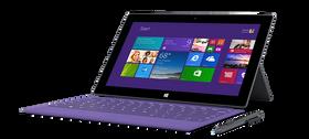 Slik ser Surface Pro 2 ut uåpnet.