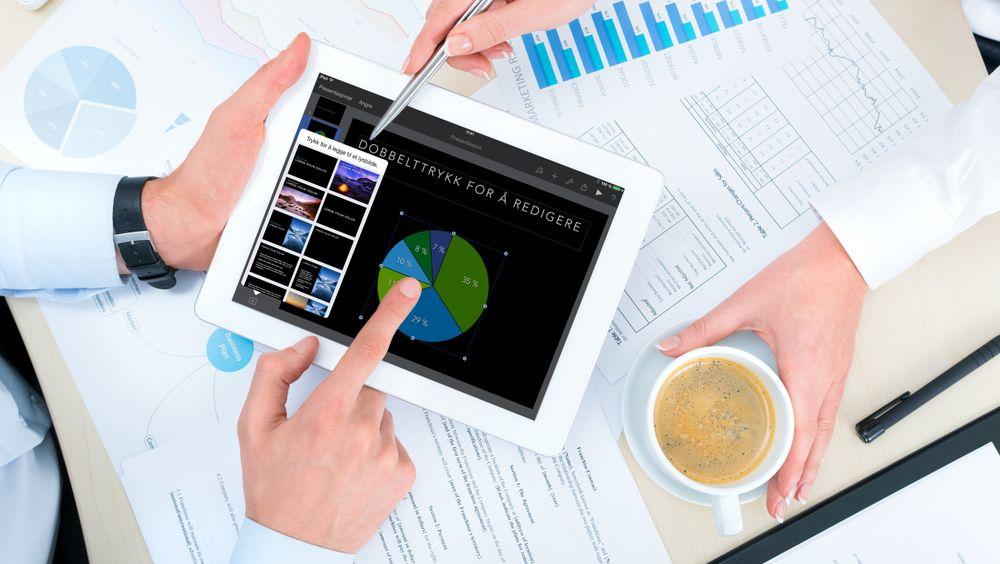 GUIDE: Slik er nye iWork for iPad og iPhone