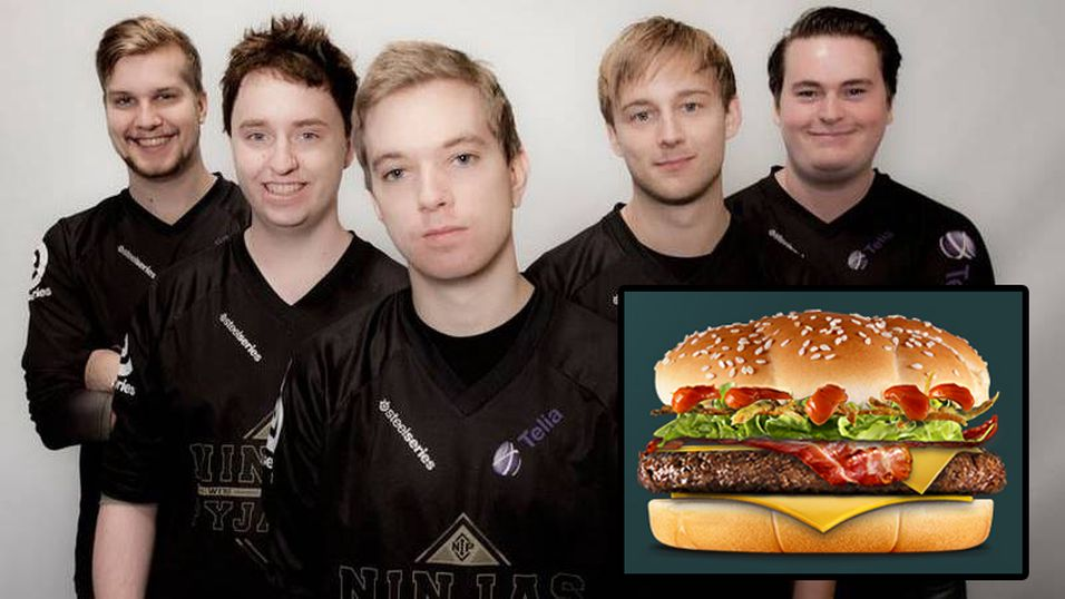 NiP har fått sin egen burger.