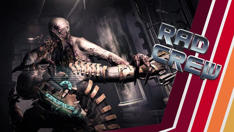 Rad Crew synes Dead Space er litt skummelt.