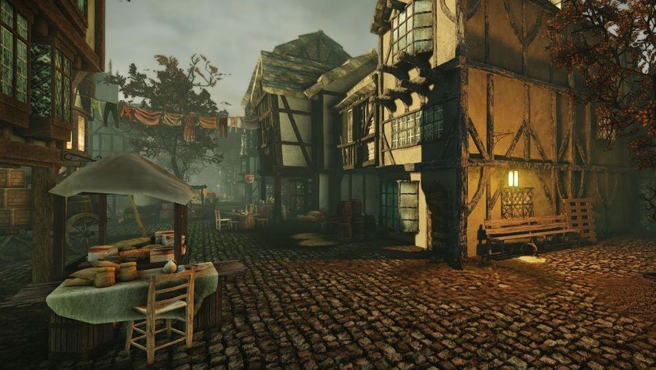 Bygde 1600-talets London i CryEngine