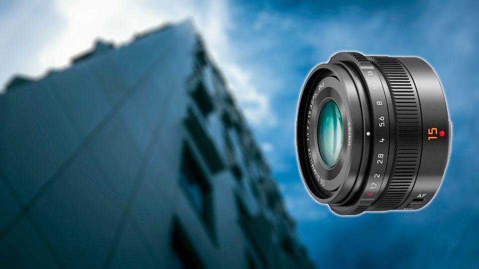 Panasonic med Leica-objektiv