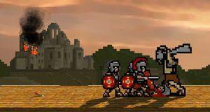 LucasArts-veteranar lagar sideskrollande retrostrategi