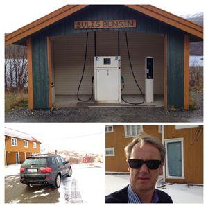 Telenors dekningsdirektør Bjørn Amundsen er ikke fornøyd med dekningen på enkelte bensinstasjoner i grisgrendte strøk.