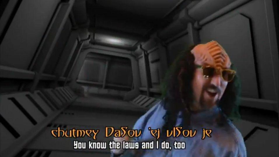 Nå kan du bli «rickroll'd» på klingonsk