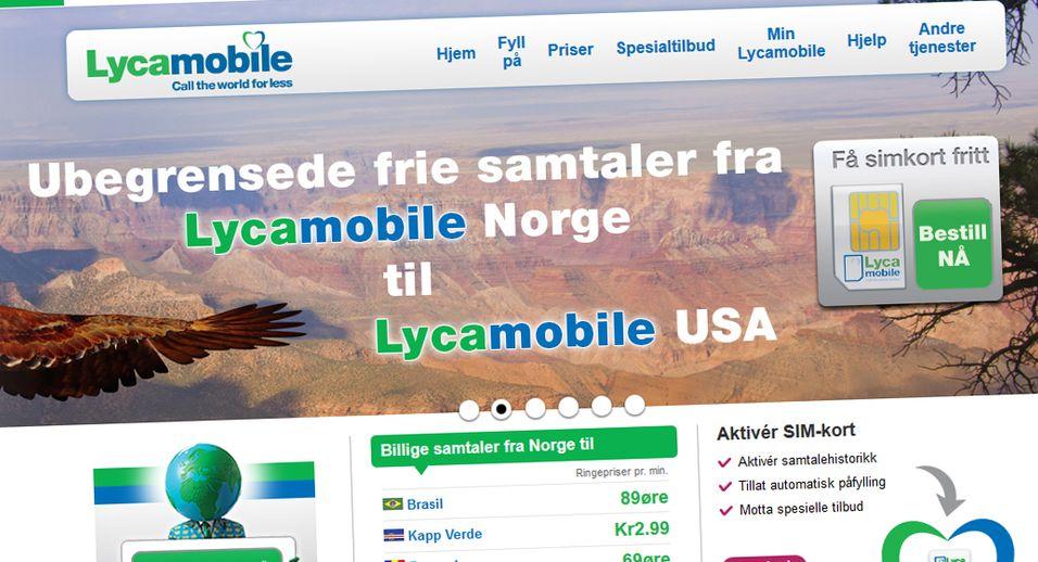 Lycamobile-kundene beholder summetonen