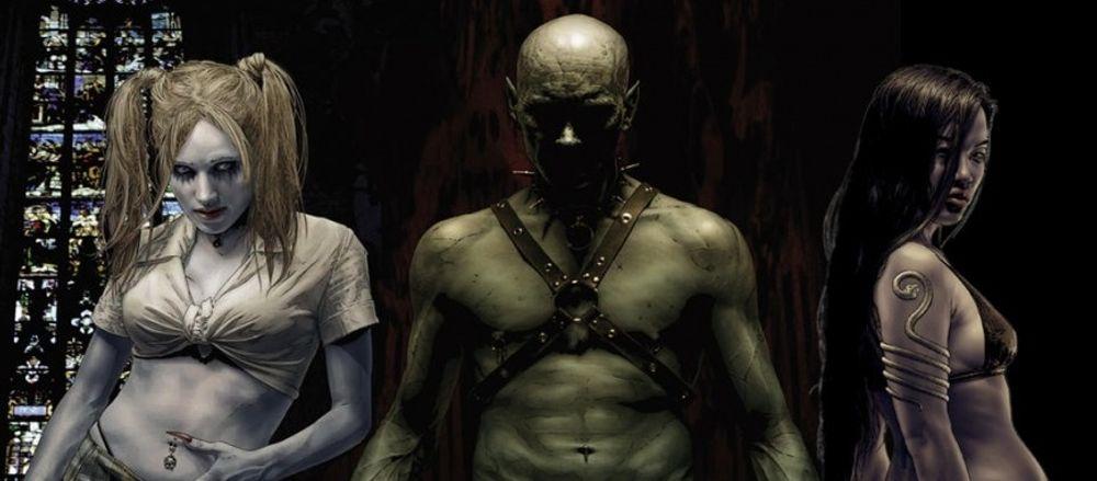 Konseptkunst fra Vampire Masquerade – Bloodlines.