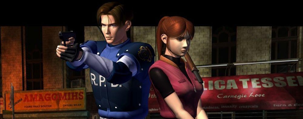 Leon S. Kennedy og Claire Redfield ble til slutt Resident Evil 2s hovedpersoner.