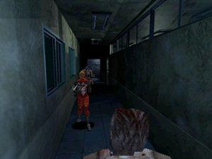 Et av de første skjermbildene fra Resident Evil 1.5 som lekket ut.