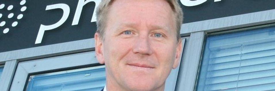 Administrerende direktør Thore Berthelsen i Phonero kjøper med Kistefos i ryggen det langt større Ventelo. Han åpner også for ytterligere oppkjøp.