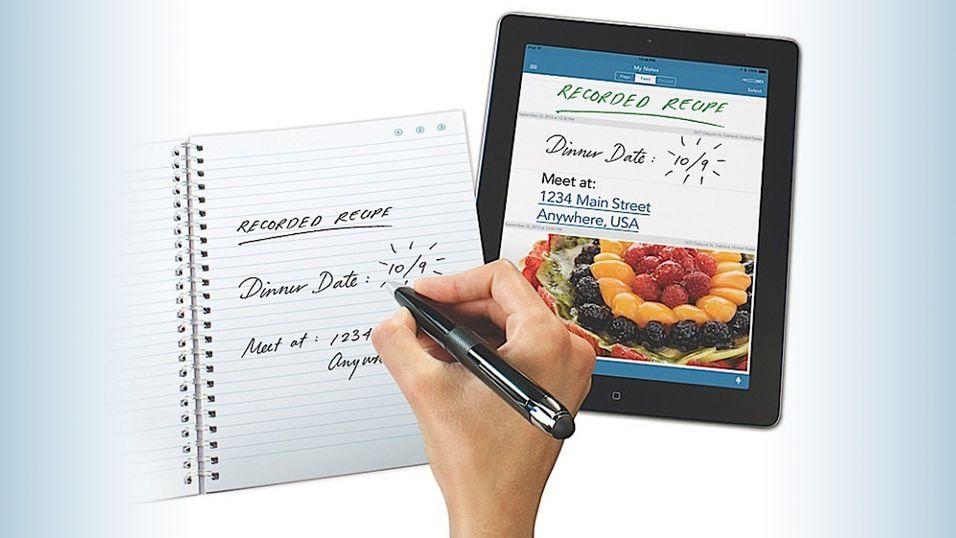 Livescribe 3 overfører håndskriften din til iPad
