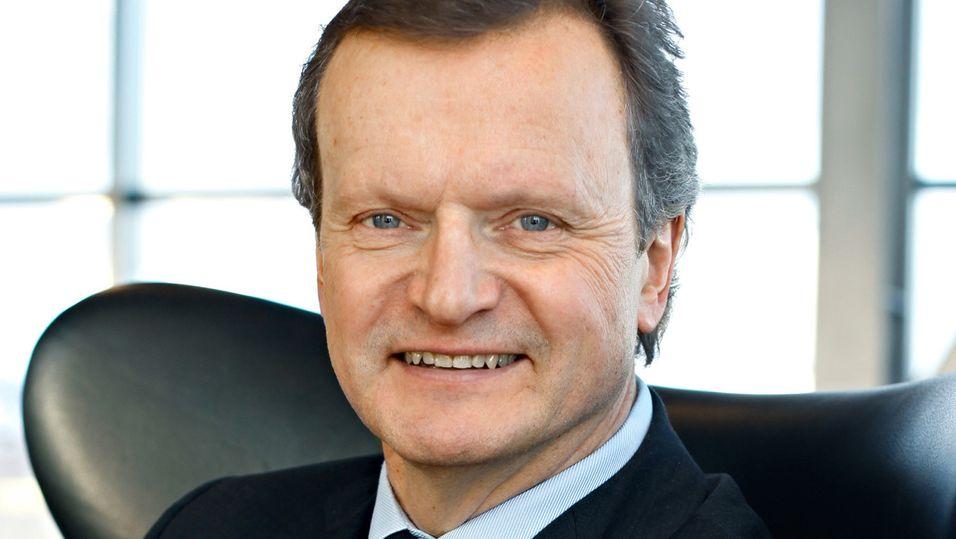 Administrerende direktør Jon Fredrik Baksaas i Telenor.