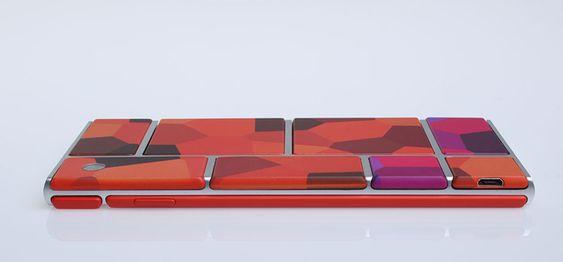 Slik kan en ferdig telefon basert på Ara-prosjektet se ut, ifølge Motorola.